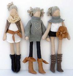Bonecas de pano fashion                                                                                                                                                     Mais
