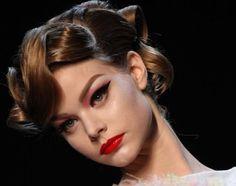 Make up anni 50, trucco Dior