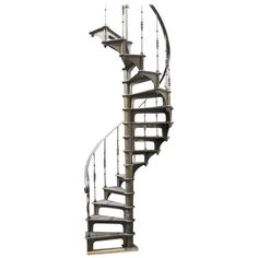 Spiral Staircase   From a unique collection of antique and modern stairs at https://www.1stdibs.com/furniture/building-garden/stairs/