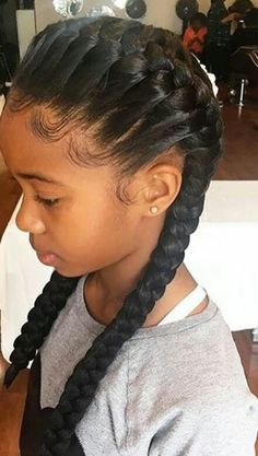 When it comes to little girls hair braids are a great way to promote hair growth and length retention. Check these 40 gorgeous braids for kids and little girls! click now for more info. Girls School Hairstyles, Black Kids Hairstyles, Little Girl Hairstyles, Hairstyles Haircuts, Braided Hairstyles, Hairstyles Videos, Braids For Kids, Girls Braids, Braid Styles For Girls