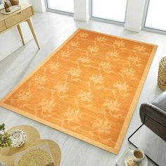 This is a beautiful gold Ziegler Area Rug perfect for any room in your home in need of some new life. The free shipping and 30-day return policy give you nothing to lose! Go buy one today. #Zieglerrug #Freeshipping #RugKnots Area Rug Sizes, Area Rugs, Modern Color Schemes, Organic Plants, Oriental Design, Rug Making, Primary Colors, Gold Rugs, Room