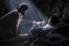 """The angel answered, """"The Holy Spirit will come upon you, and the power of the Most High will overshadow you. So the holy one to be born will be called the Son of God. Luke 1:35"""