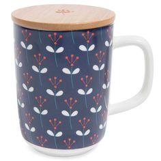 Mug in ceramica blu navy CAPRI