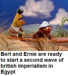I is for IMPERIALISM