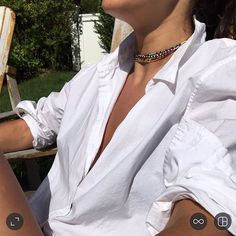 I'll start with choker and work my way down to bracelet and anklet! #wrapitup #3ways #staytuned #uncomplicatedindulgence #roxanneassoulin #summer Hit bio to indulge xxx