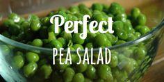 perfect pea salad