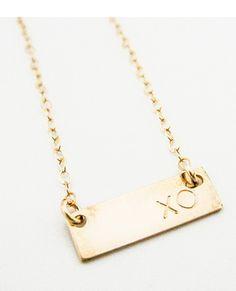 XO Necklace