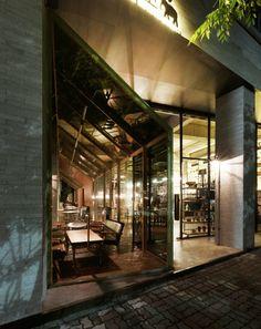 Café Nangman by Betwin Space Design, Gwangju   Korea cafe