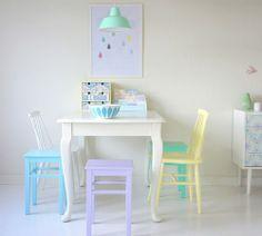 accessoires, chambre, couleurs, décoration, décors, entrée, intérieurs, pastels, printemps, salon, Séjour