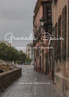 The Alhambra may be amazing, but Granada has so much more to offer! devourgranadafoodtours.com