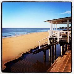 Margate Beach in Margate, QLD
