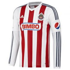 Jersey M/larga Cdg H Soccer Caballero Adidas F87394 #Jersey #Chivas #Guadalajara #Adidas #Futbol