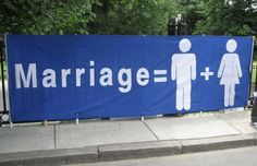God's Design For Marriage Is Between One Man & One Woman