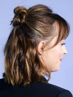 The No-Fringe Fringe: A Low-Commitment Way to Do Bangs via @ByrdieBeautyUK