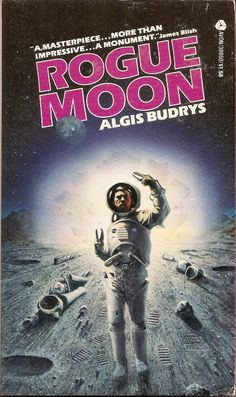 Rogue Moon - Algis Budrys, cover by Carl Lundgren