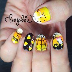 halloween by hoyobie  #nail #nails #nailart