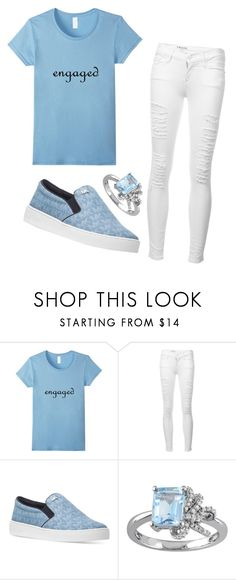 """""""Engaged"""" by michellesfashioncompany on Polyvore featuring Frame, Michael Kors and Laura Ashley"""
