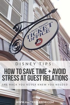 Disney Hacks | Walt Disney World | WDW | Disney Vacation Planning | Disney Guest Relations | Annual Passholder Services | Disney Magic | Disney Tips | Magic Kingdom Tips | Magic Kingdom Guest Services | Disney Ticket Office | How To Do Disney | Disney Prep Ideas | Walt Disney World Vacation Tips | Disney Lifestyle Blogger | @kaitkillebrew