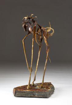 Koński Rzeźba - Piaszczysta Graves Art