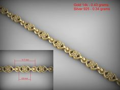 printable model Chain Link formats include STL, 925 bracelet bracelets, ready for animation and other projects Gold Chain Design, Gold Jewellery Design, Gold Jewelry, Gold Bangles For Women, Gold Bracelet For Women, Gents Bracelet, Gold Mangalsutra Designs, Jewelry Design Drawing, 3d Printed Jewelry