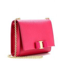 Salvatore Ferragamo Ginny Small Leather Shoulder Bag