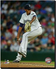 Edwin Diaz Seattle Mariners-16 x 20 HD Photo on Gallery Wrapped Stretched Canvas