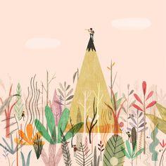 The Artist's Palette :: Dadu Shin << Illustration Friday Flower Illustrations, Art And Illustration, Conceptual Illustrations, Magazine Illustration, Inspiration Art, Affinity Designer, Blog Deco, You Draw, Art Design