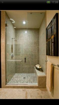 My shower.