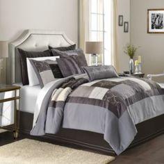 Simply Vera Vera Wang Facets 4 Pc Comforter Set Queen