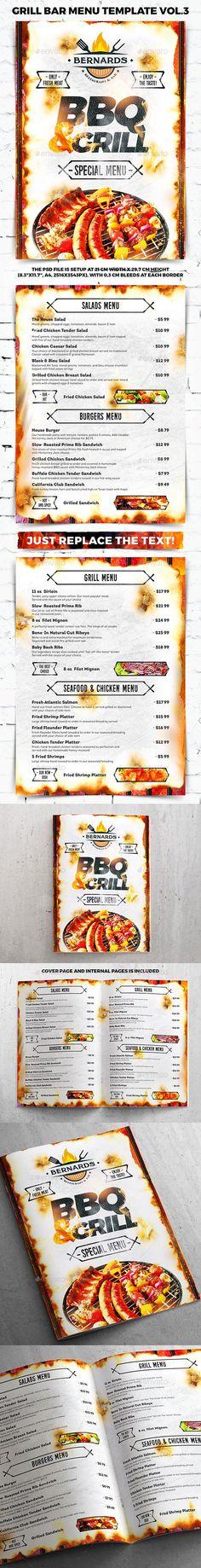 Fast Food Menu Flyer Template Food menu, Flyer template and Menu - menu flyer template