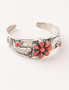 Expensive but love it....Kundalini Silver Coral Bangle