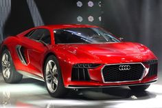 From the Frankfurt Motor Show 2013, the proportions of this Audi Nanuk Quattro concept look more like an American muscle car than European.