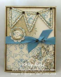 Kelly Rose, Independent Stampin' Up! Demonstrator: Elements of Style