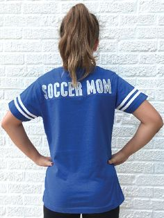 Your girls sports store for soccer mom t shirt and girls soccer apparel. Soccer Outfits, Girls Soccer, Sport Girl, Your Girl, Shirt Dress, T Shirt, Spirit, Mom, Dresses