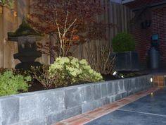 Voorbeelden | Bestrating in Zeist met natuursteen en verlichting ...