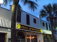Meg O'Malley's Irish Pub & Restaurant in Melbourne, FL. Great food and atmosphere.