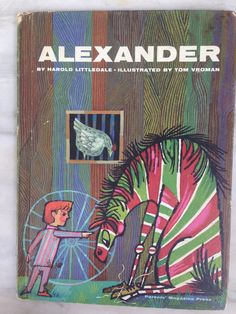 vintage Alexander book, by Harold Littledale, illustrated by Tom Vroman, 1964 edition children's literature by MotherMuse on Etsy