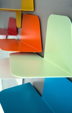 Particular of #FLAP# shelves by #MEMEDESIGN#