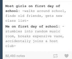 ouran high school host club on tumblr humor pinterest