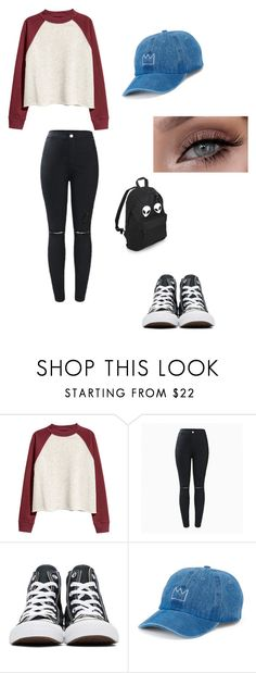 """Untitled #447"" by austynh on Polyvore featuring H&M, Converse and SO"