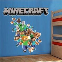 Adesivo de parede Infantil Minecraft