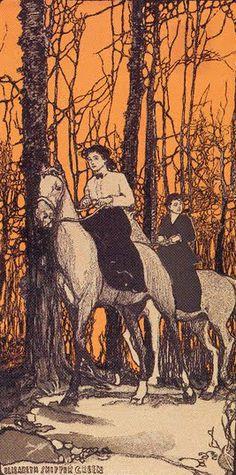 Bryn Mawr 1902 Calendar. Illustrated by Jessie Willcox Smith, Elizabeth Shippen Green, and Ellen Wetherald Ahrens.