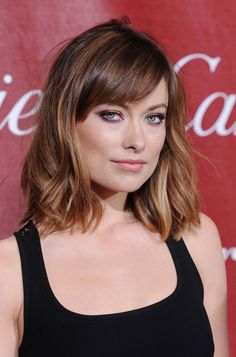 Bangs? i would live them, but not sure my hair would do it! hairstyle inspiration