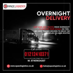 Take the benefits of Overnight delivery services in the UK and EU! We are taking bookings for courier/goods to deliver by our Overnight Delivery Services to export/import or transport your products. 🔘 Call on 📲 01212410371. Overnight Delivery, Uk Europe, About Uk, Transportation, Health Care, Medical, Train, Day, Products