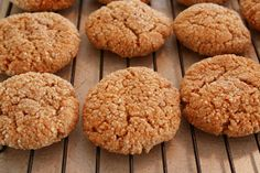 "The Healthy Happy Wife: Cinnamon Almond Cookies or ""Snickerdoodles"" (Dairy, Gluten/Grain and Refined Sugar Free)"