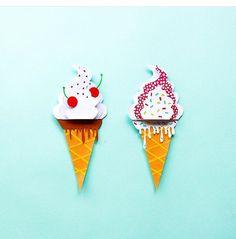 Paper Ice cream inspiration