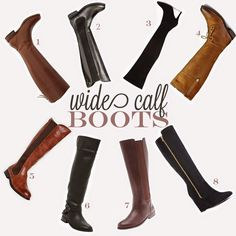 Curvy Fashionista Wide Calf Boots My Wide Calf Boot Picks