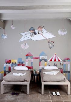 10 Clever & Creative Shared Bedrooms