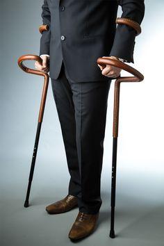 brilliant & fashonable crutches