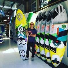 Yeeaw Look who's got an early Christmas Present ! Nice one Ric first delivery of the 2016 Goya Custom Quad ... Going to shred the lighthouse at Port Fairy on that for sure !! ;) #goyawindsurfing #windsurfing #warnambool #portfairy #goyacustomquad #surfcoast by coreboardsports